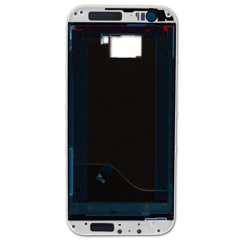 HTC One M8 Pre Assembly Bezel Silver - 74H02614-00M, Cover - Itstek