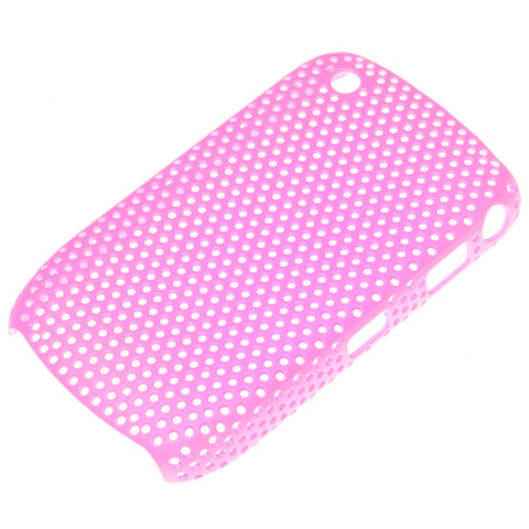 Blackberry 8520 Mesh Case - Pink, Skin - Itstek
