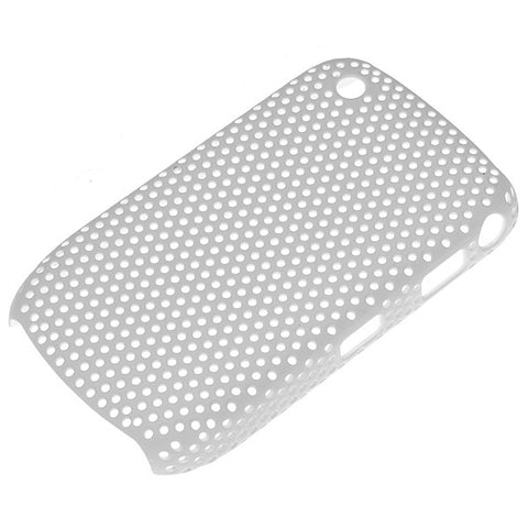 Blackberry 8520 Mesh Case - White, Skin - Itstek