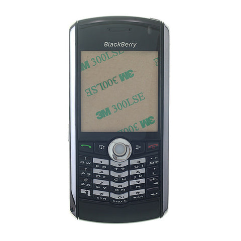 BlackBerry 8100 Pearl Complete Housing - Black, Complete Housing - Itstek