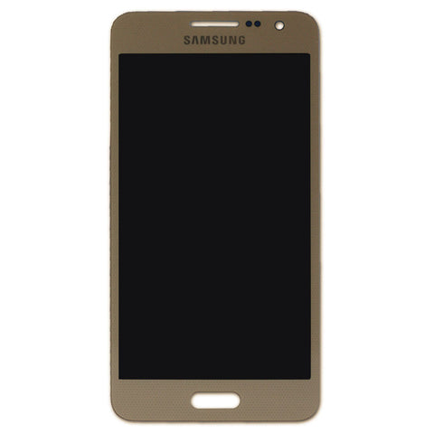 Samsung A300F Galaxy A3 LCD + Touch - Gold, LCD - Itstek