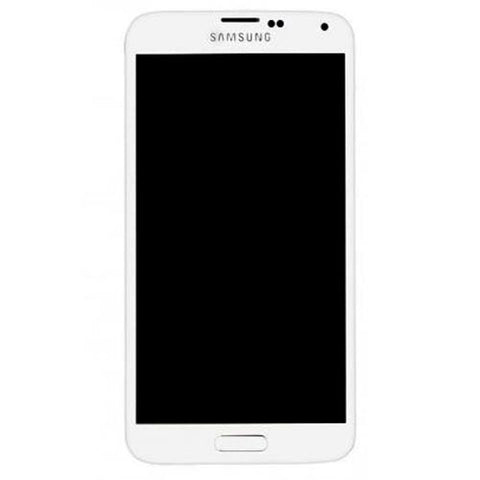 Samsung G900F Galaxy S5 LTE LCD + Touch Assy White, LCD - Itstek