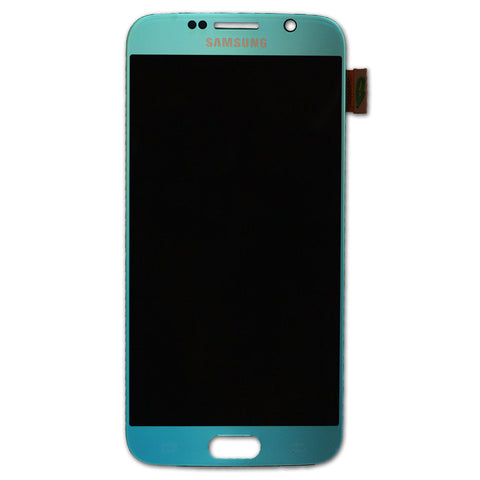Samsung G920 Galaxy S6 LCD + Touch Assy Light Blue, LCD - Itstek
