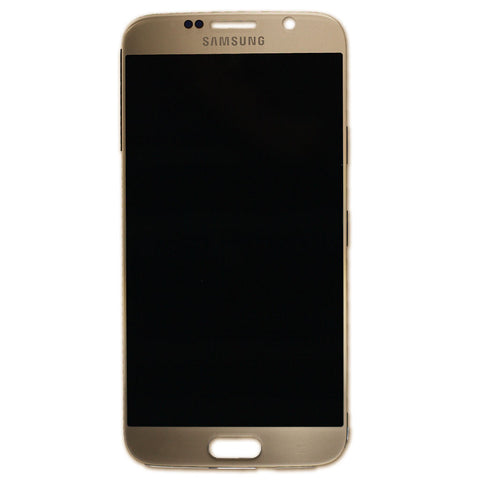 Samsung G920 Galaxy S6 LCD + Touch Assy Gold, LCD - Itstek