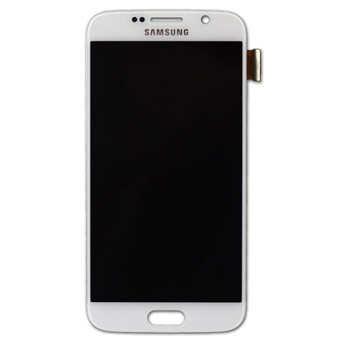 Samsung G920 Galaxy S6 LCD + Touch Assy White, LCD - Itstek