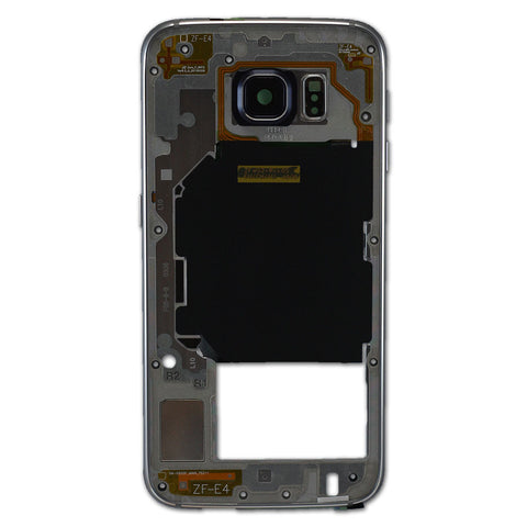 Samsung G920 Galaxy S6 Midframe/Chassis - Black, Midframe/Chassis - Itstek