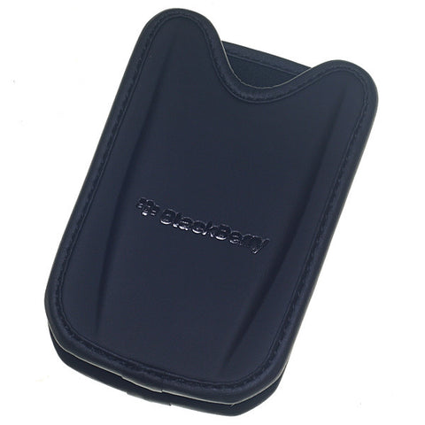 BlackBerry 8700, 8800, 8820, 8830 Leather Pouch Black Bulk, Skin - Itstek