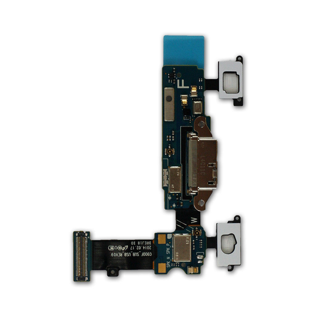 Samsung G900F Galaxy S5 Micro USB Connector, Mic & Flex Assy, Charging Connector - Itstek