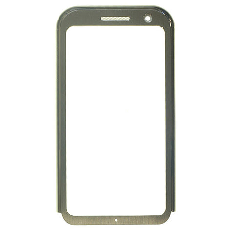 LG KM900 Arena Front Cover Frame Silver, Cover - Itstek
