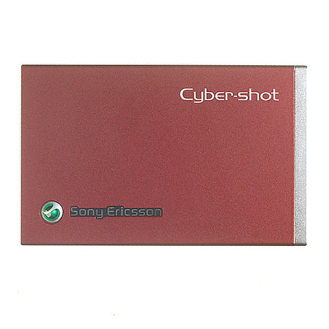 Sony Ericsson C902 Battery Cover / Red Colour, Battery Cover - Itstek