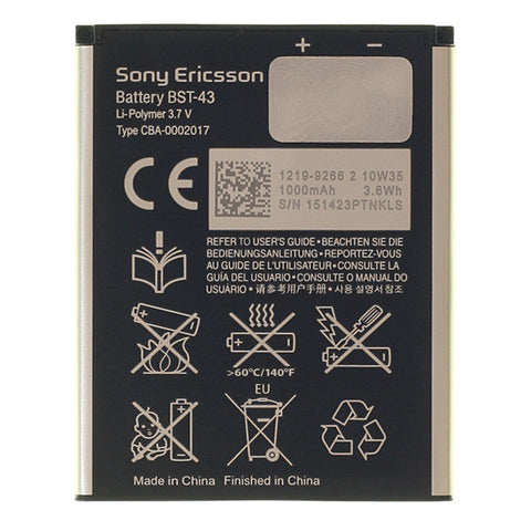 Sony Ericsson - Battery comp. Elm / Yari (bulk), Battery - Itstek