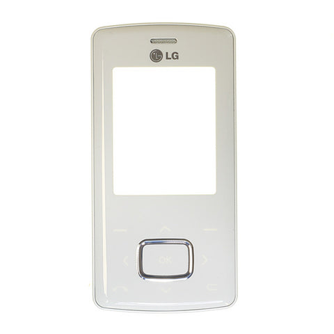 LG KG800 (chocolate) Front Housing / White Colour, Cover - Itstek