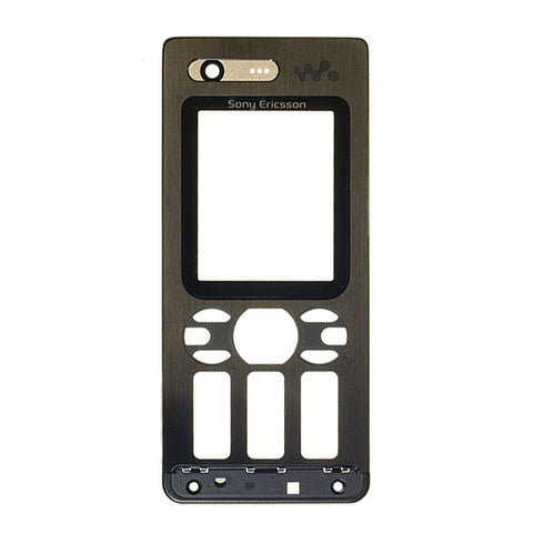 Sony Ericsson W880i Front Housing / black colour, Cover - Itstek