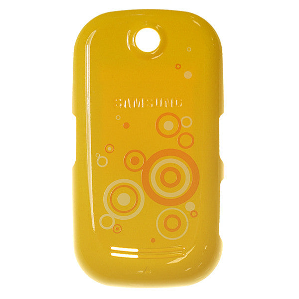 Samsung S3650 Genio Touch / Corby Battery Cover Yellow, Battery Cover - Itstek