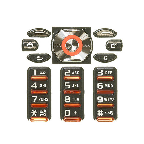 Sony Ericsson W880i Keypad / black colour, Keypad - Itstek