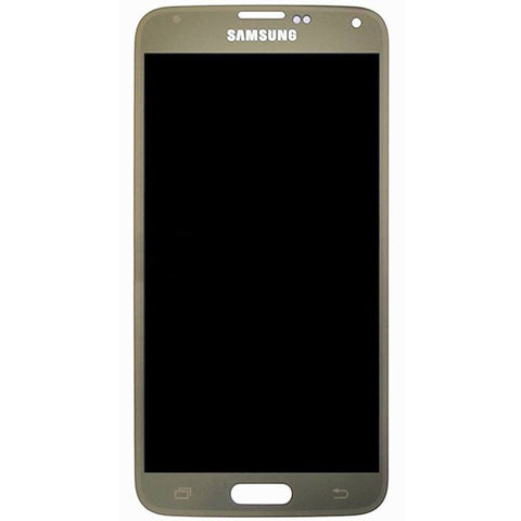 Samsung G900F Galaxy S5 LTE LCD + Touch Assy Gold, LCD - Itstek