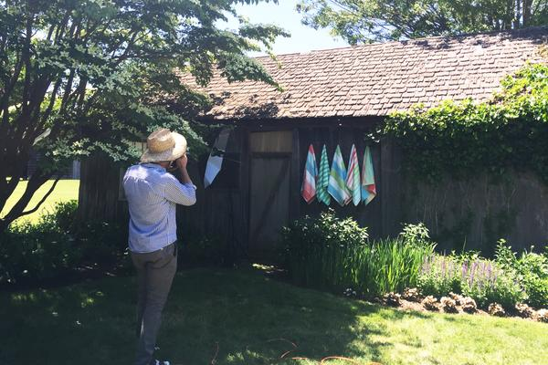 Behind the Scenes Hamptons Photoshoot
