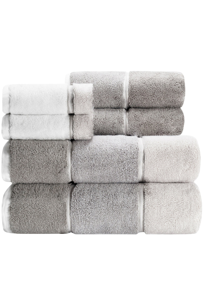 Maya 6-Piece Towel Set- CARO's BEST SELLER HORIZONTAL STRIPED TOWELS
