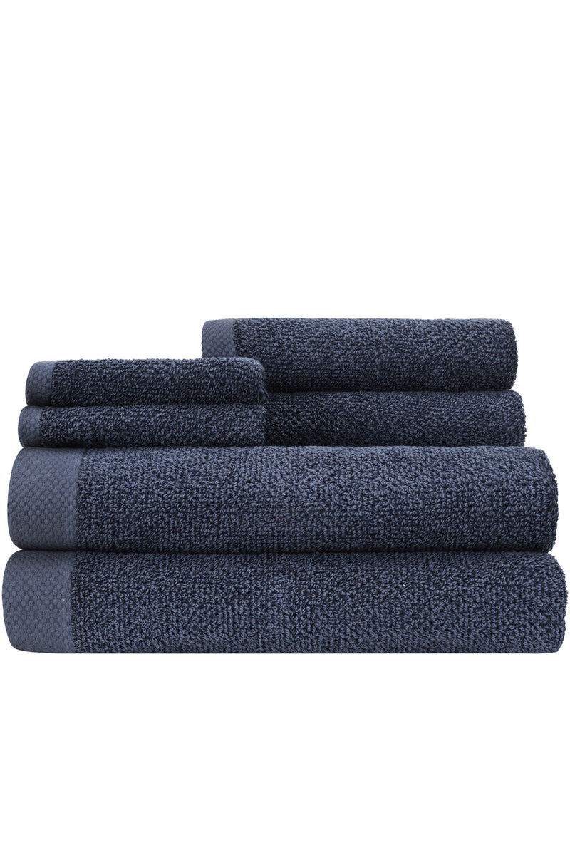 *NEW* Adele OVERSIZED Cotton/Bamboo Naturally ANTIMICROBIAL 6-piece Towel Set