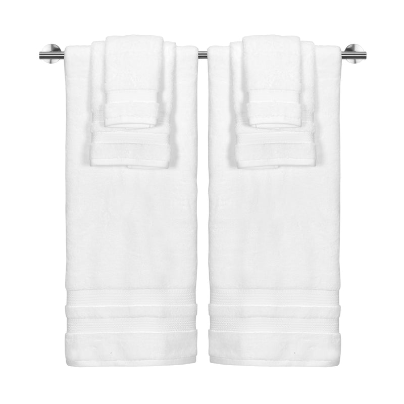 *NEW* BELAIRE SUPER PLUSH 6PC TOWEL SET