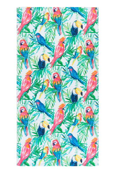 Bird Paradise Beach Towel