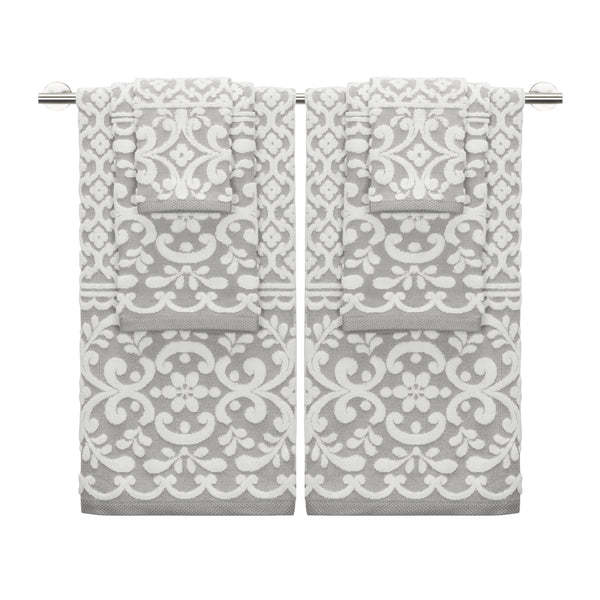 Emma 6-Piece Towel Set - CARO's DESIGN MASTERPIECE
