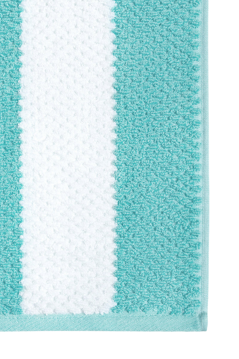 Rugby Stripe Turquoise