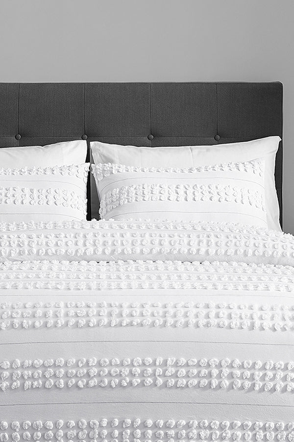 ZARIA 3 Piece Comforter Set-100% WASHED COTTON