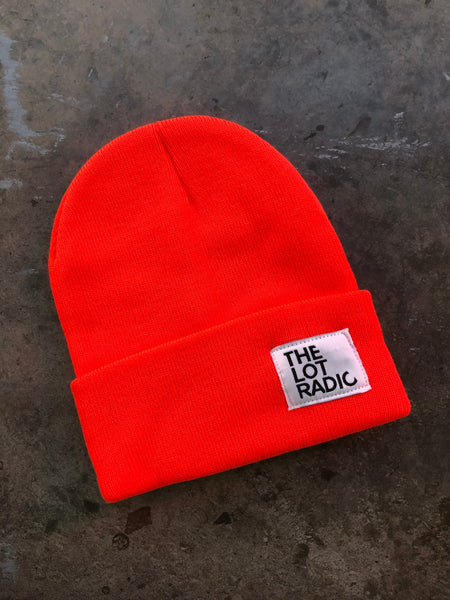 The Lot Radio Beanie (Orange)