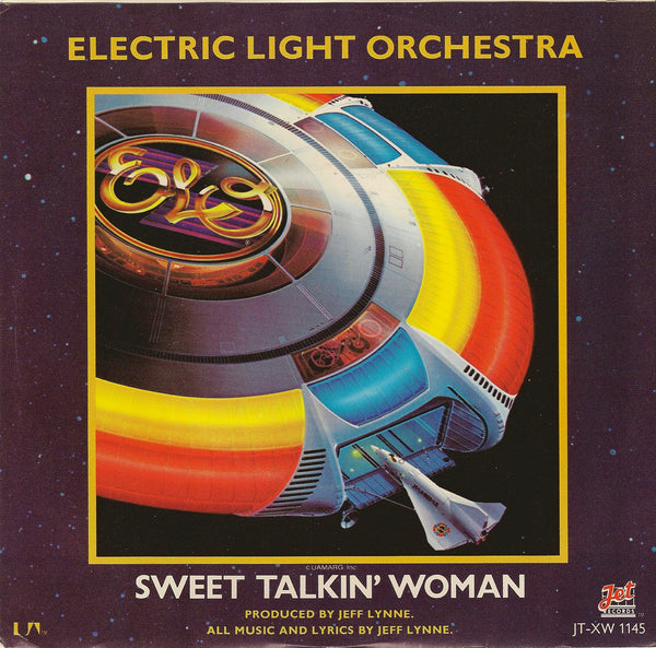 Sweet Talkin' Woman - Original Pressing-Purple Wax