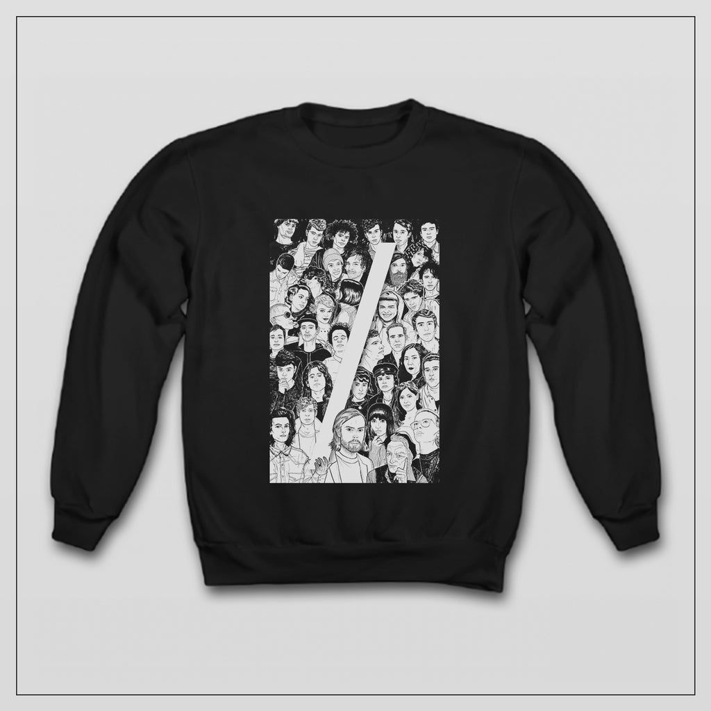CT10 Faces Sweatshirt