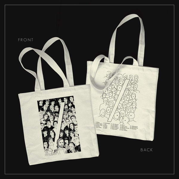 CT10 Faces Tote Bag