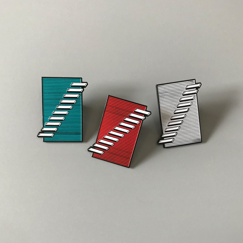 "Captured Tracks 10th Anniversary 1.5"" Enamel Pins"