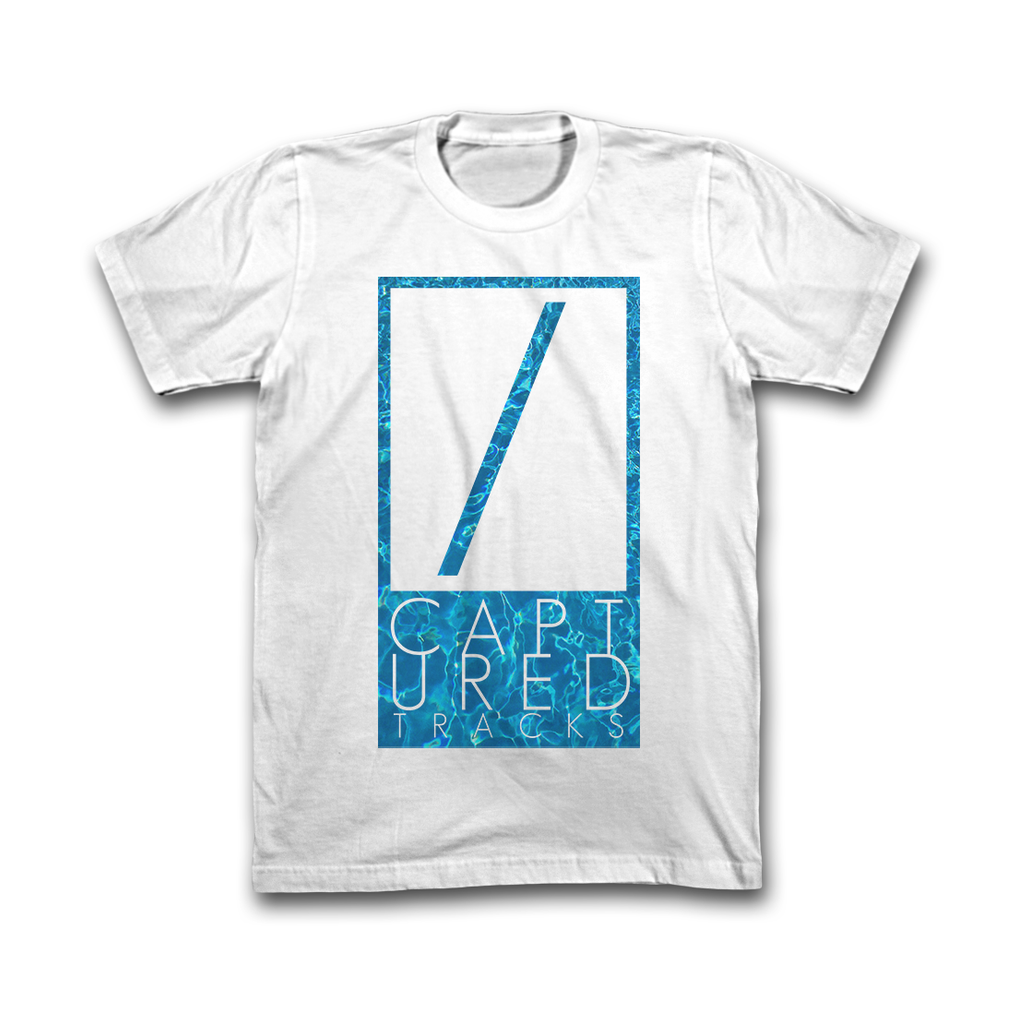 Captured Tracks Pool Logo T-Shirt (White)