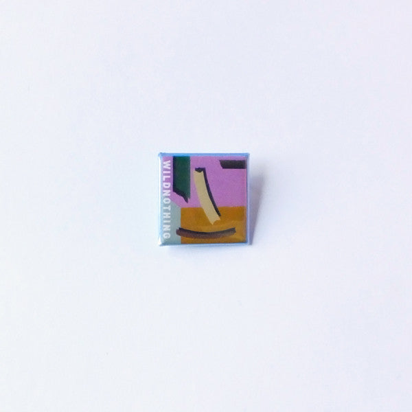 "Wild Nothing 1"" Empty Estate Square Button"