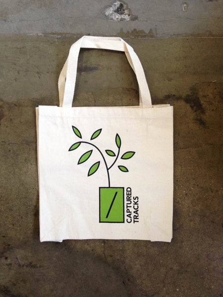 Captured Tracks Spring Canvas Tote Bag