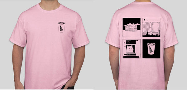 The Lot Radio Vignette T-Shirt (Pink)