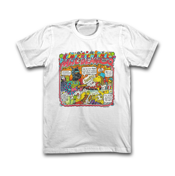 Mac DeMarco by Bjenny Montero Cotton T-Shirt
