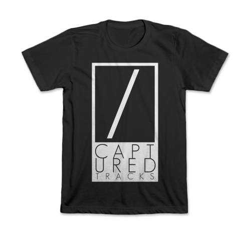 Captured Tracks Logo T-Shirt (Black)