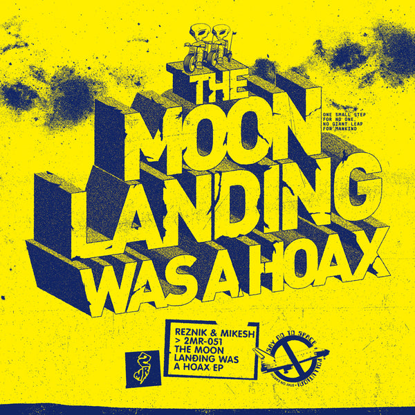 "The Moon Landing Was A Hoax EP (12"" Single)"