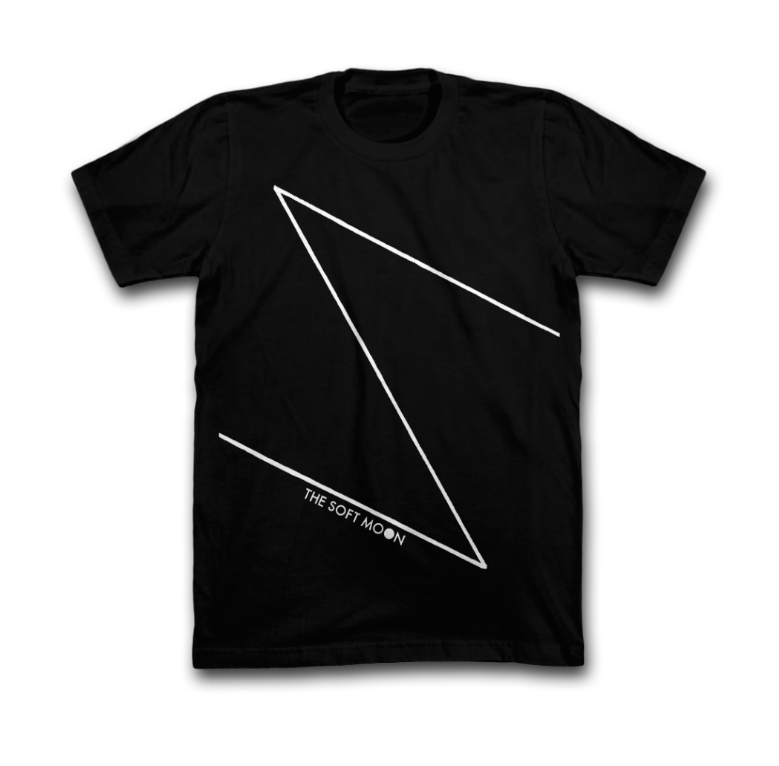 The Soft Moon Black Zeros Cotton T-Shirt