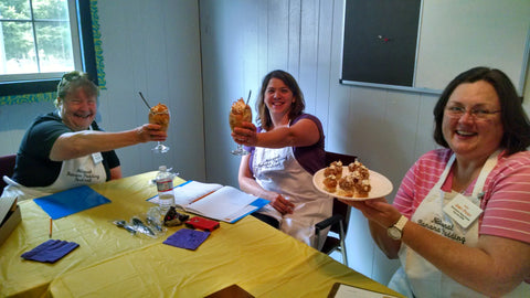 Seven Co. Banana Pudding Cook-Off Judges 2015