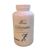 Joint Support - CS/GS/MSM   200 Capsules - Nutriage, LLC  - 1