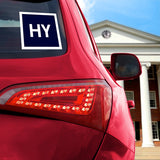 HY Car Decal