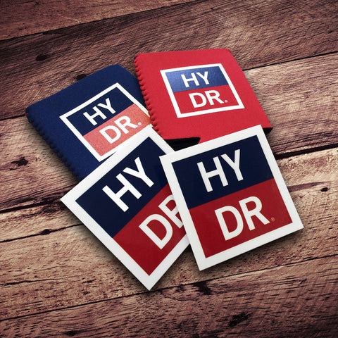 Discount HYDR Decal / Koozie Pack!