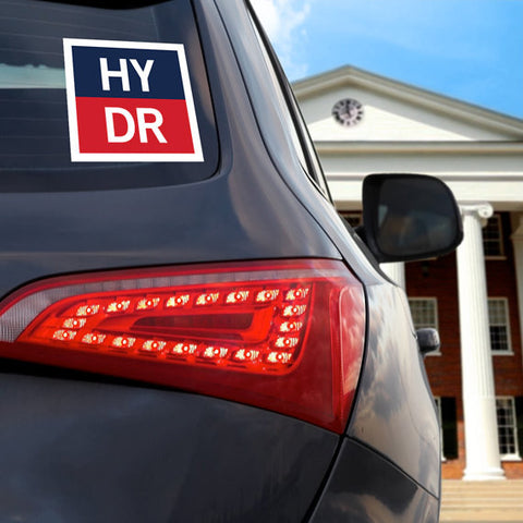 "HYDR ""Logo"" Car Decal"