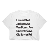 Streets of Oxford Women's Crop Top