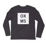 OXMS Long Sleeve Fitted Crew