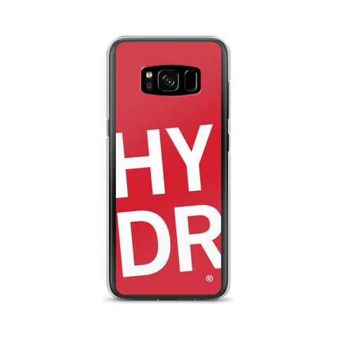 HYDR Red Samsung 8 & 9 Case