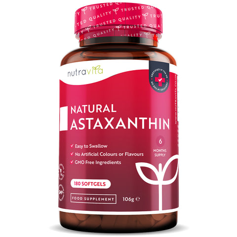 Natural Astaxanthin - 180 Softgels